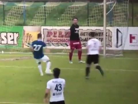 Irdning goalkeeper actually gives up as Everton win 22-0 in pre-season friendly