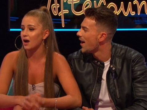 Love Island's Georgia Steel forced to watch that kiss with Jack Folwer and it's even more awkward we could have ever imagined