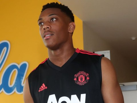Jose Mourinho criticises Anthony Martial for missing Manchester United's defeat to Liverpool