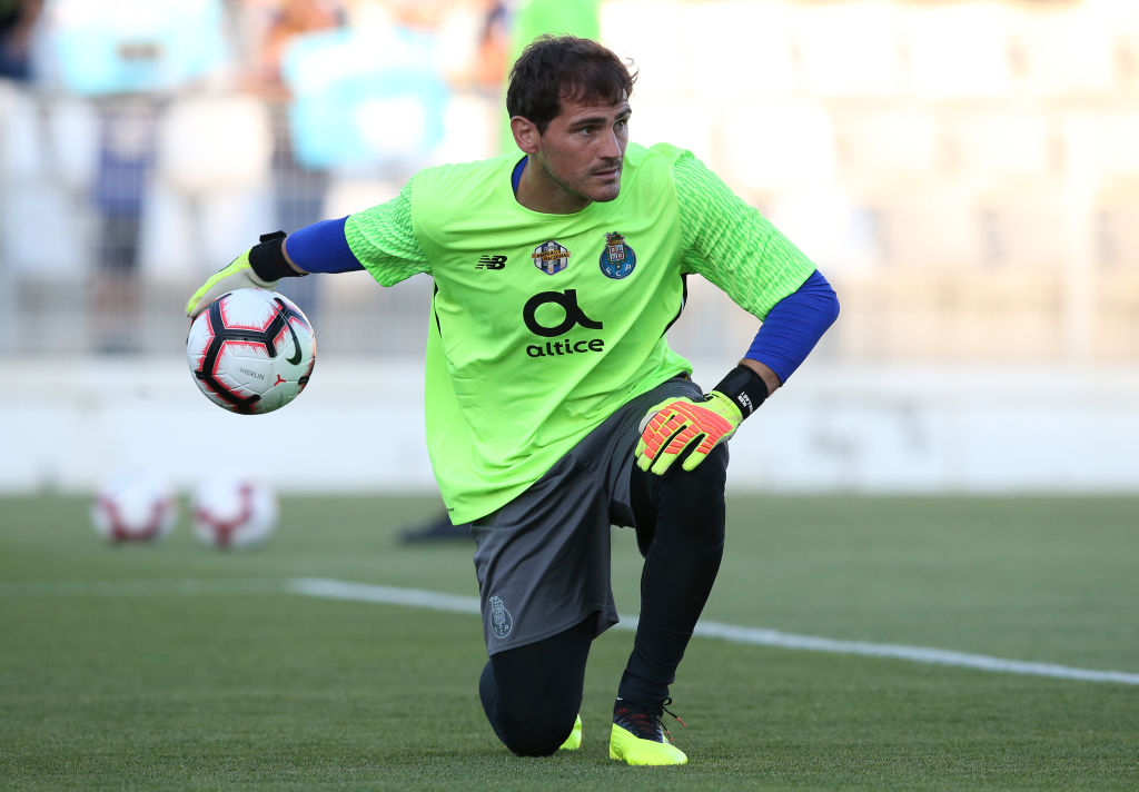 Iker Casillas launches staunch defence of under-fire Liverpool keeper Loris Karius
