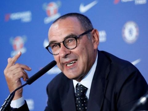 Maurizio Sarri speaks out on Eden Hazard and Thibaut Courtois transfer speculation