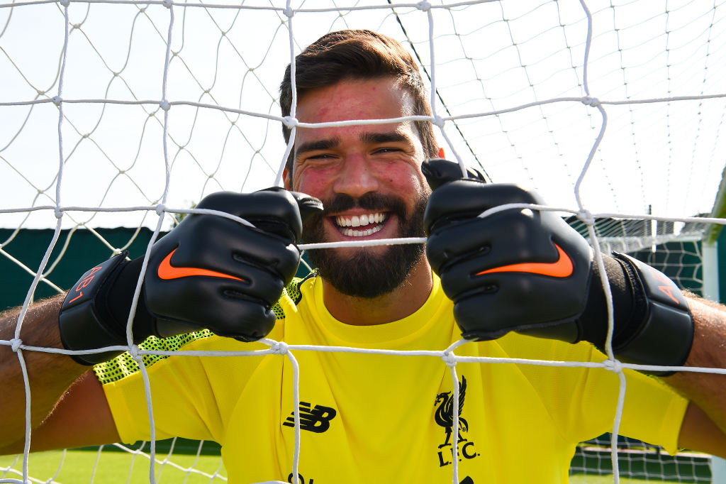 Alisson reveals when he will begin pre-season training with Liverpool