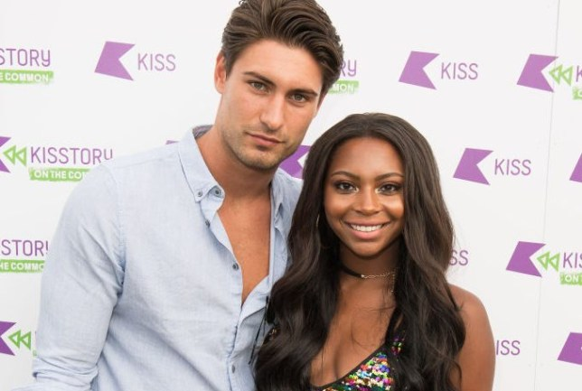 Love Island's Frankie was accused of cheating on Samira (Picture: Getty)
