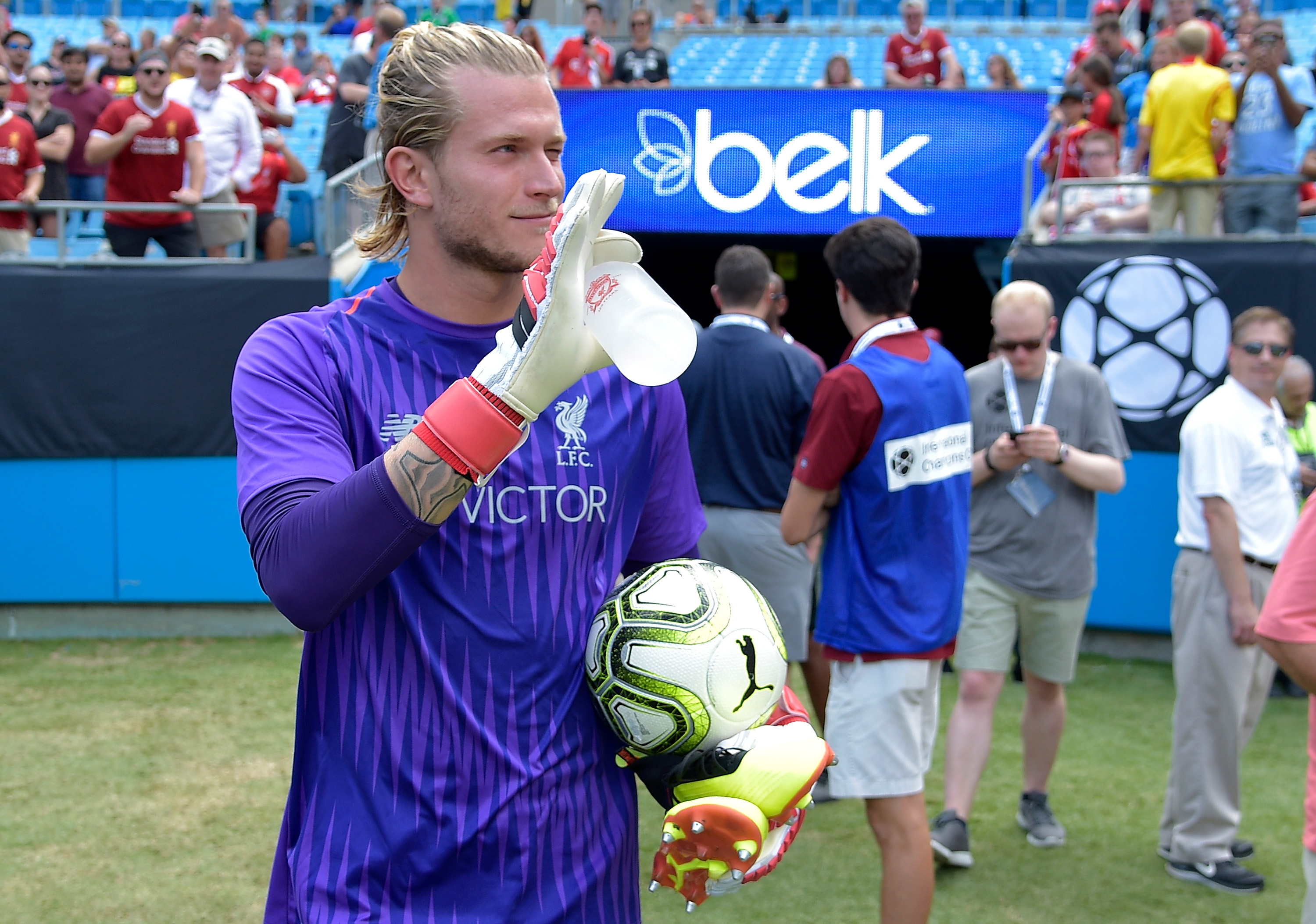 Loris Karius hits back at Liverpool fans who mocked him for mistakes against Dortmund