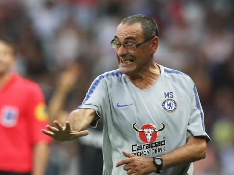 Chelsea boss Maurizio Sarri praises Alvaro Morata after impressive display against Inter Milan