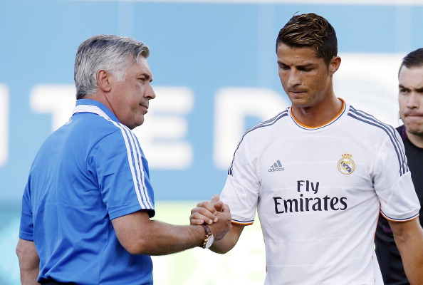 Cristiano Ronaldo calls former manager Carlo Ancelotti ahead of proposed move to Juventus from Real Madrid