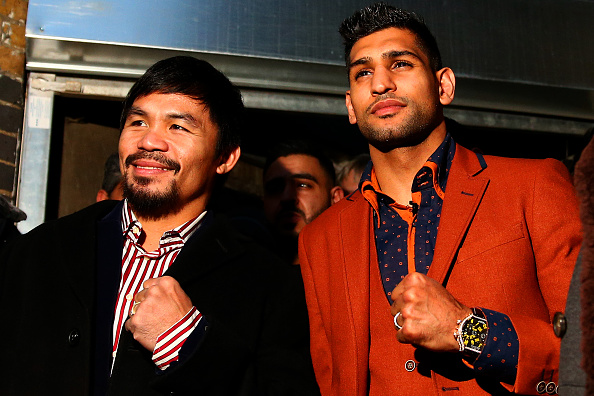 Amir Khan desperate for 'explosive' fight against Manny Pacquiao