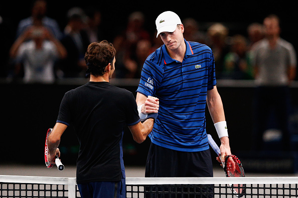 John Isner inspired by 'alien' Roger Federer ahead of US Open tilt