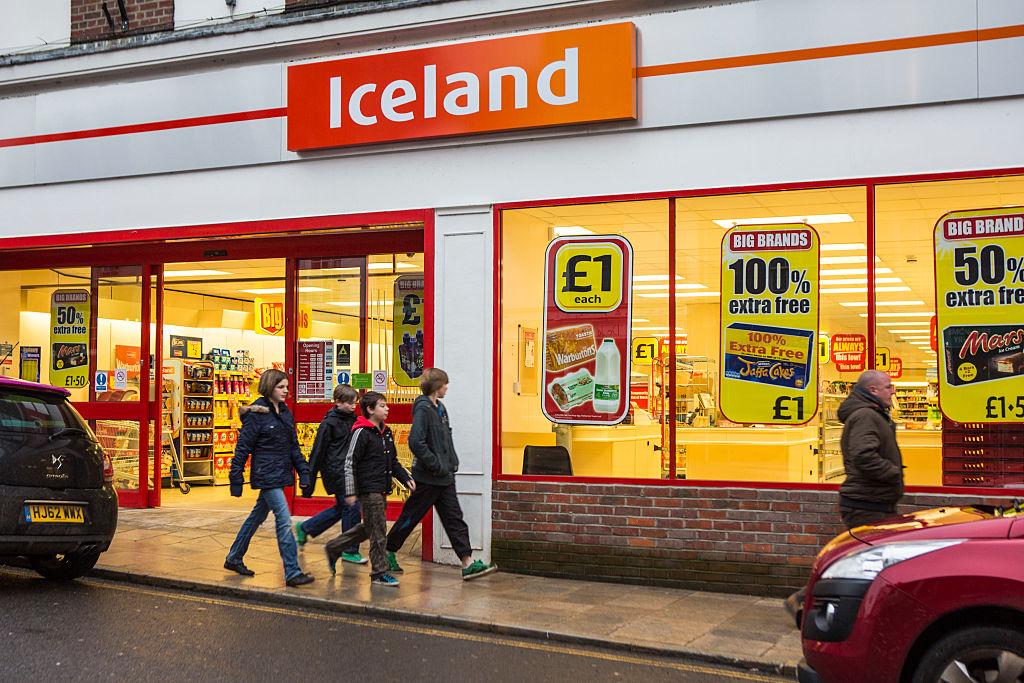 Iceland supermarket