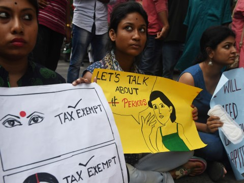 India has scrapped the tampon tax, it's time the UK followed suit