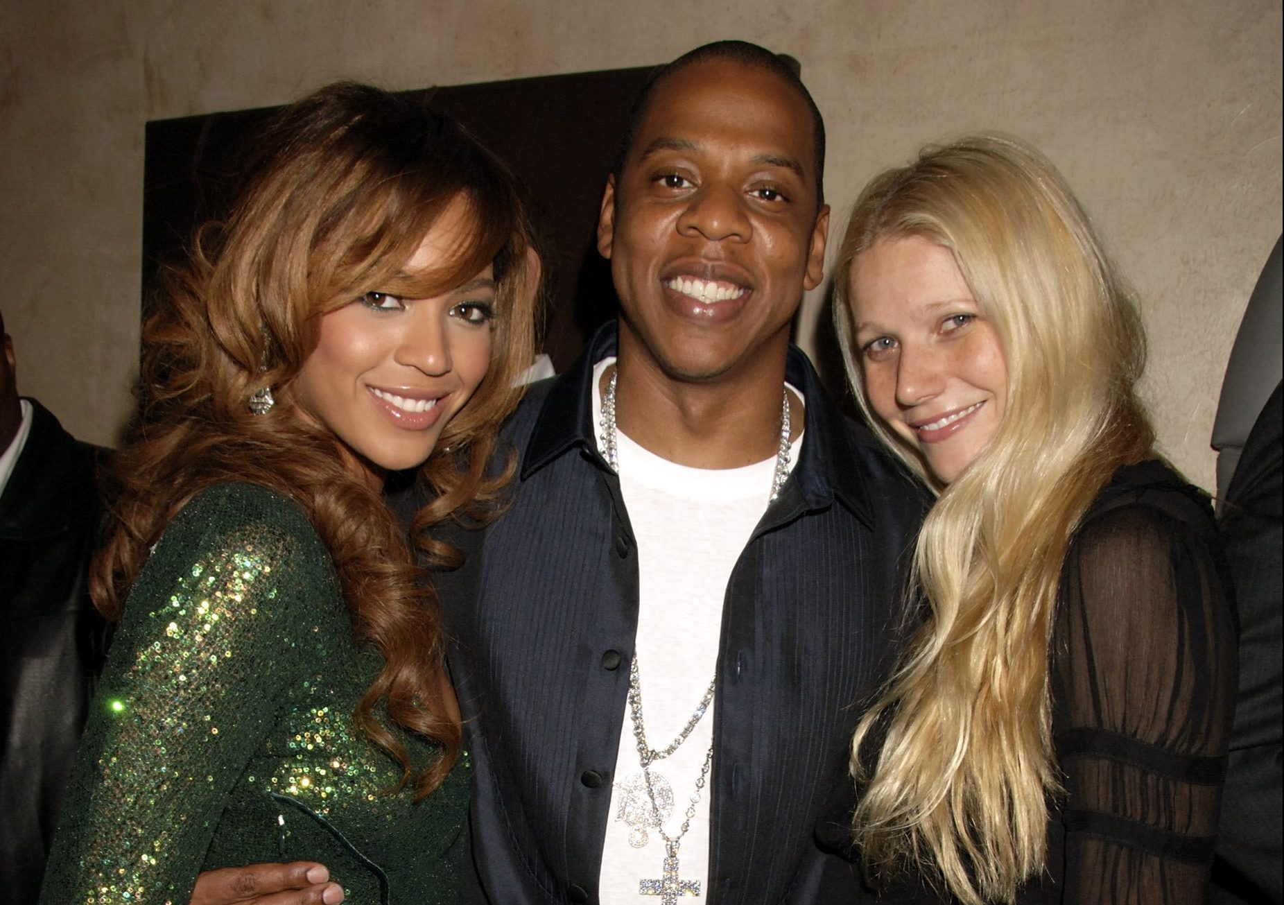 Beyonce, Jay Z and Gwyneth Paltrow