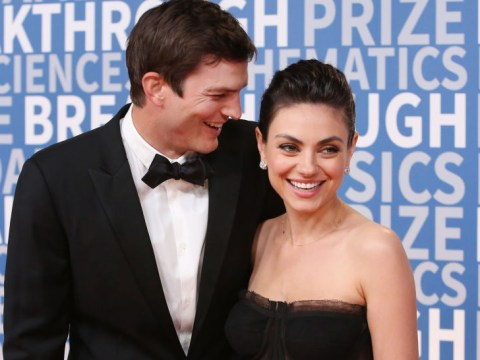 Mila Kunis and Ashton Kutcher aren't splitting up, FYI, so you can calm down