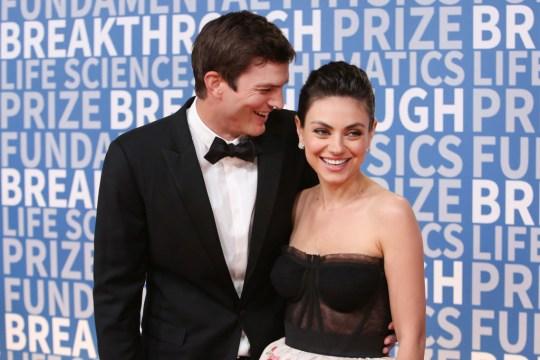 Mila Kunis and Ashton Kutcher aren't splitting up, FYI, so you can calm down
