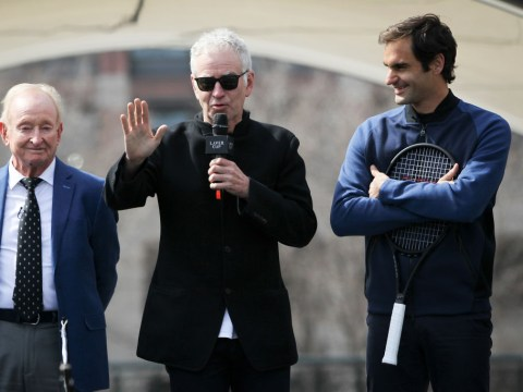 John McEnroe reveals the brutal way he'd deal with Roger Federer's SABR