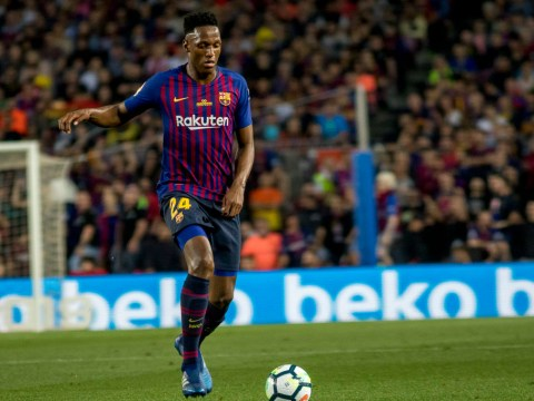 Barcelona star Yerry Mina drops Manchester United transfer hint on Instagram