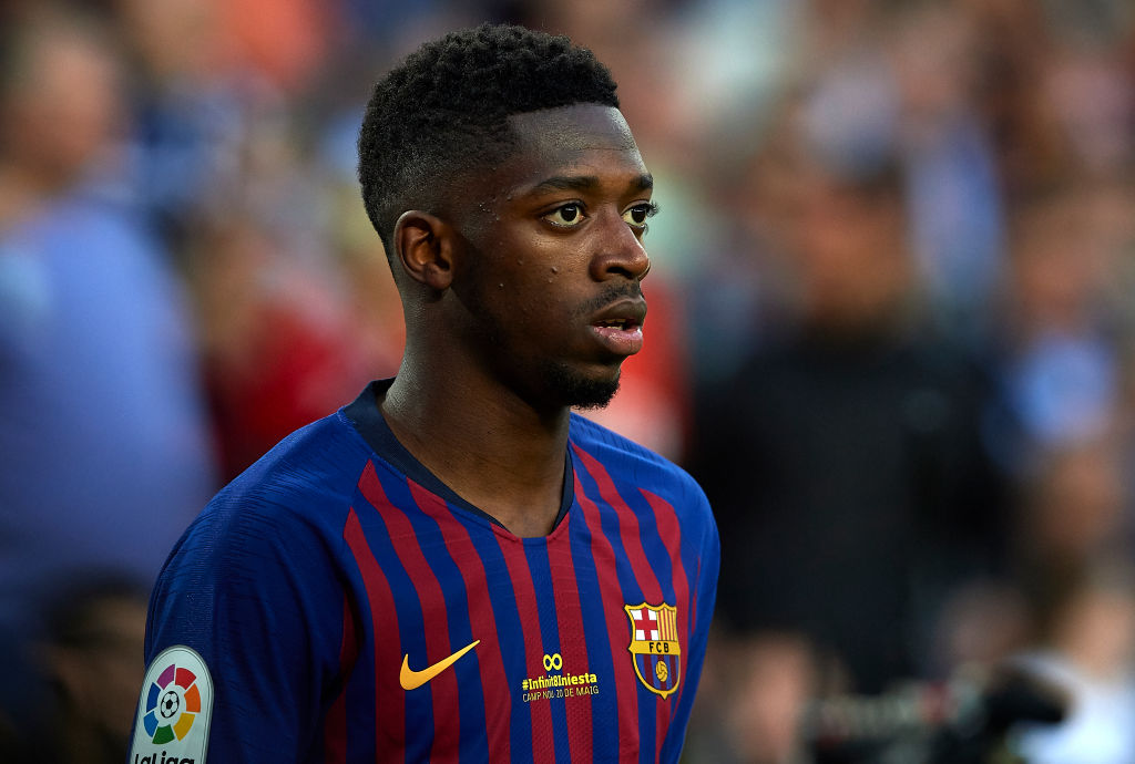 Ousmane Dembele contacted by Barcelona's president after Arsenal transfer link