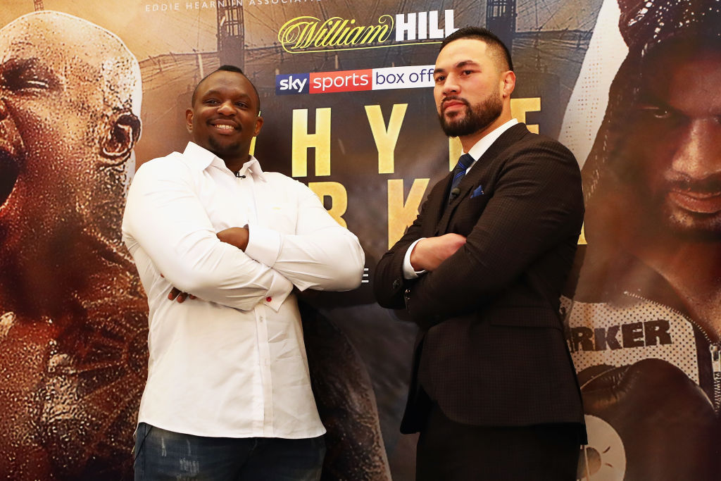 Dillian Whyte vs Joseph Parker undercard, tickets, date, TV channel and odds