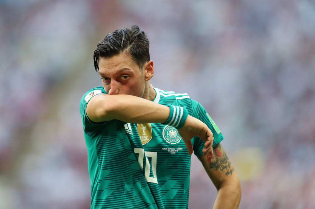 Germany team manager Oliver Bierhoff regrets calling up Mesut Ozil to World Cup squad