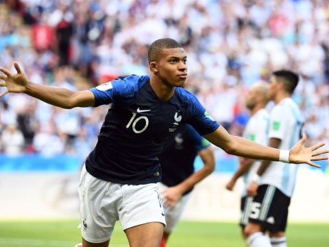 Kylian Mbappe sits out of training ahead of Belgium clash but Didier Deschamps eases injury fears