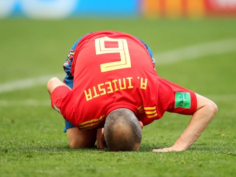 Andres Iniesta confirms Spain retirement: 'It wasn't my dream farewell'