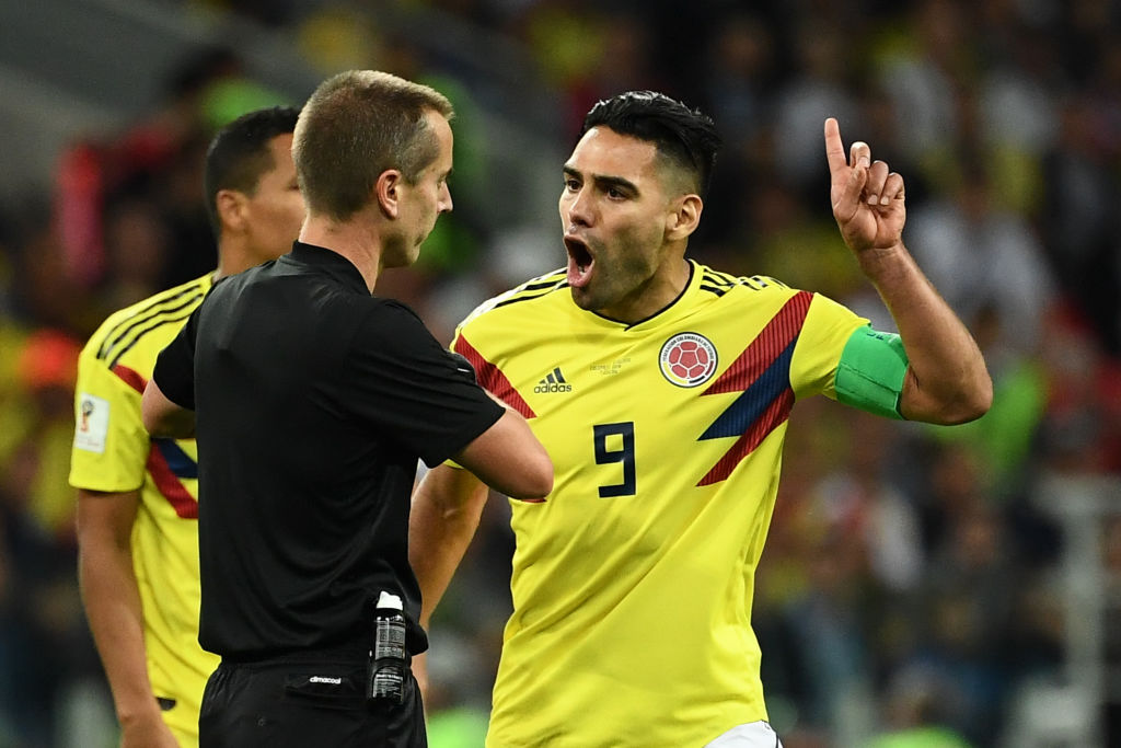 Radamel Falcao slams 'biased' referee in England's World Cup win over Colombia