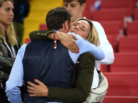 Who is Gareth Southgate's wife Alison and how long have they been married?
