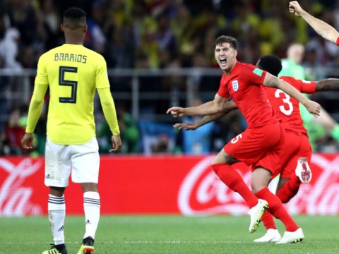 John Stones explains picture of him appearing to taunt Colombia's Wilmar Barrios