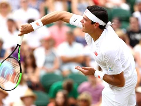Wimbledon 2018: Milos Raonic almost floors John Millman with 147 mph serve