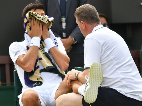 Novak Djokovic speaks out on injury scare during Wimbledon second round