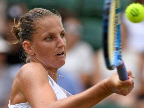 All top-10 women's seeds OUT of Wimbledon before the quarter-finals as Karolina Pliskova falls