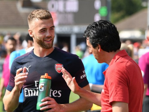 Calum Chambers reveals Unai Emery has earmarked him for Arsenal midfield role