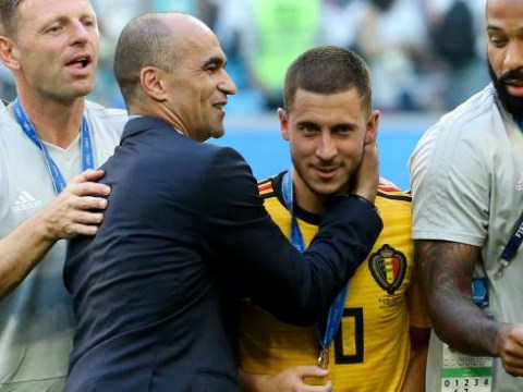 Roberto Martinez urges Eden Hazard to consider leaving Chelsea for Real Madrid