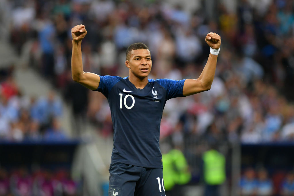 Kylian Mbappe makes World Cup history with stunning strike against Croatia in 2018 final