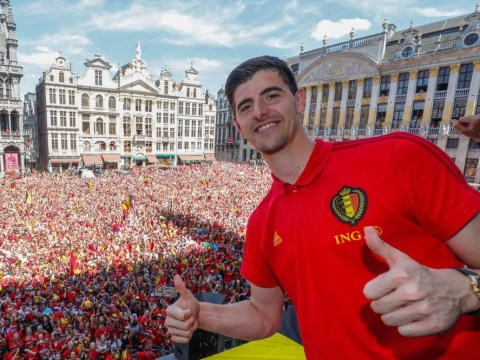 Thibaut Courtois flies to Spain after World Cup as Real Madrid look to wrap up deal