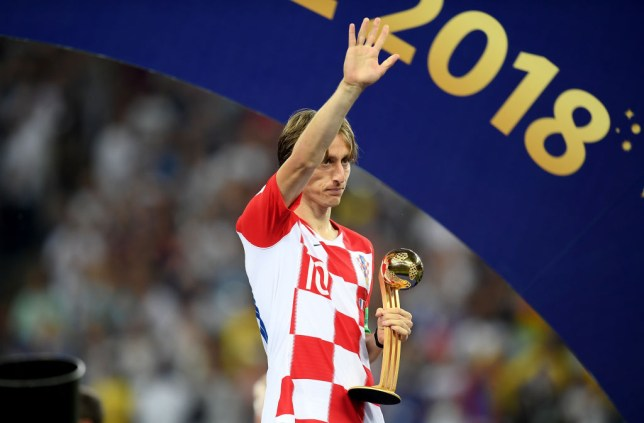 a984afbdaa5 Luka Modric was the surprise winner of the Golden Ball (Picture  Getty  Images). The World Cup ...