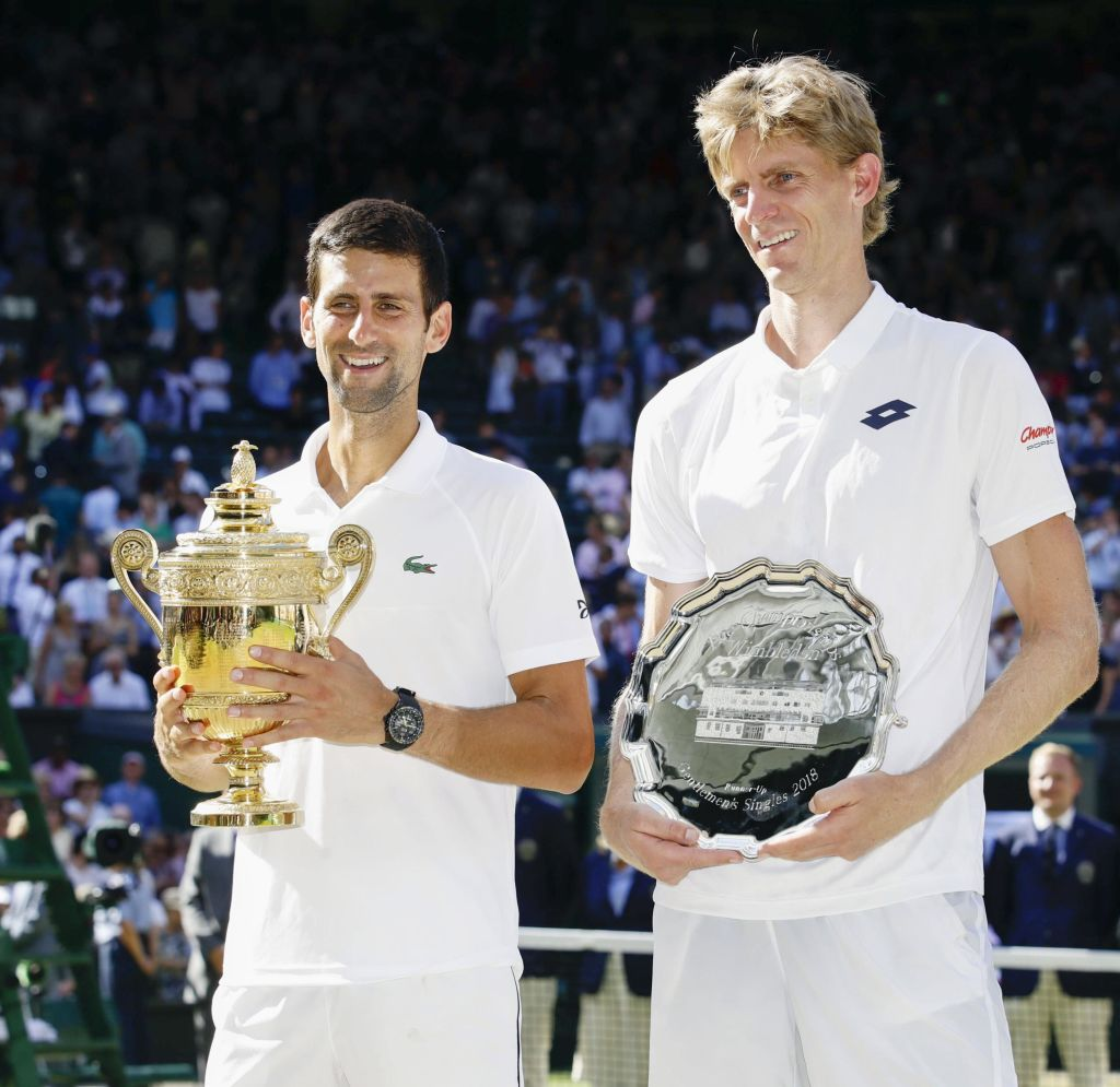 Kevin Anderson tells Rafael Nadal and Roger Federer what to expect of Novak Djokovic
