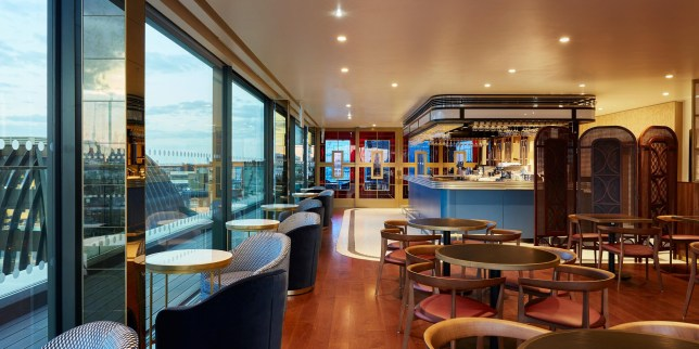 Bar Fox: 'Hidden gem' Art Deco rooftop bar at Hotel Inigo