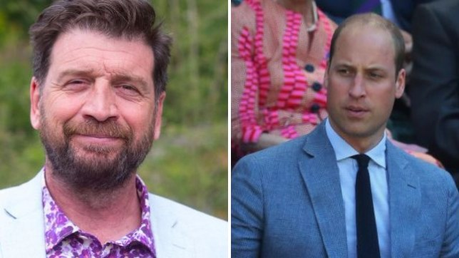 Nick Knowles and Prince William