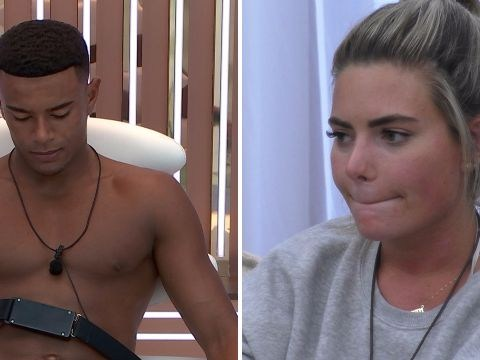 Love Island's Megan admits insecurities about glamour model past and fears Wes' parents won't approve of her