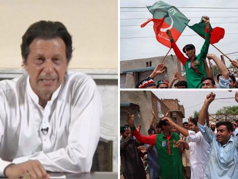 Imran Khan declares victory in Pakistan general election