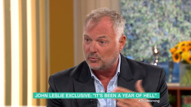 John Leslie on This Morning