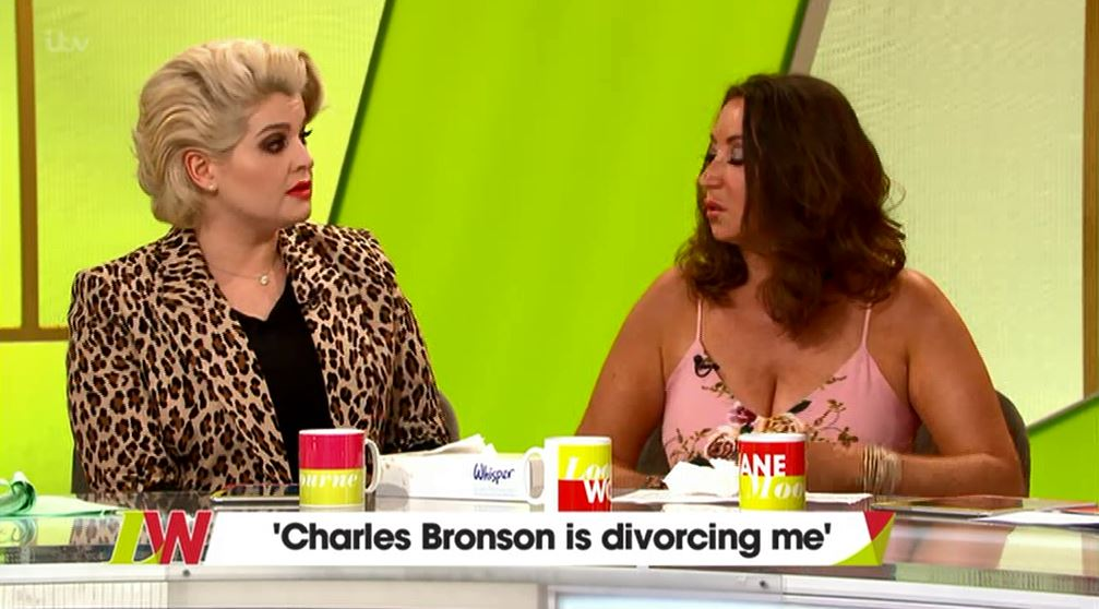 Kelly Osbourne warns Charles Bronson's wife as she opens up about battle with prescription drugs