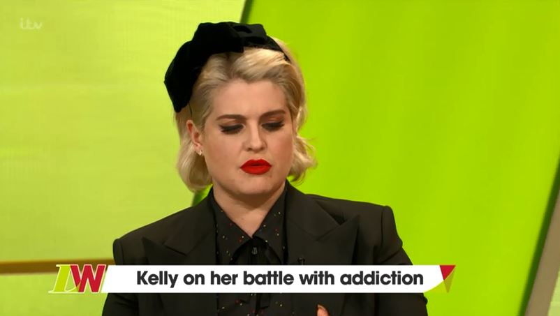 Kelly Osbourne 'fights everyday to stay clean' as she encourages people to show love to Demi Lovato
