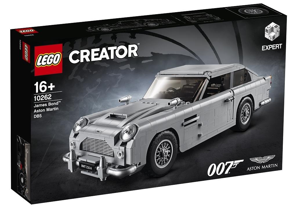 Lego James Bond Aston Martin DB5 is a thing of brick-based beauty