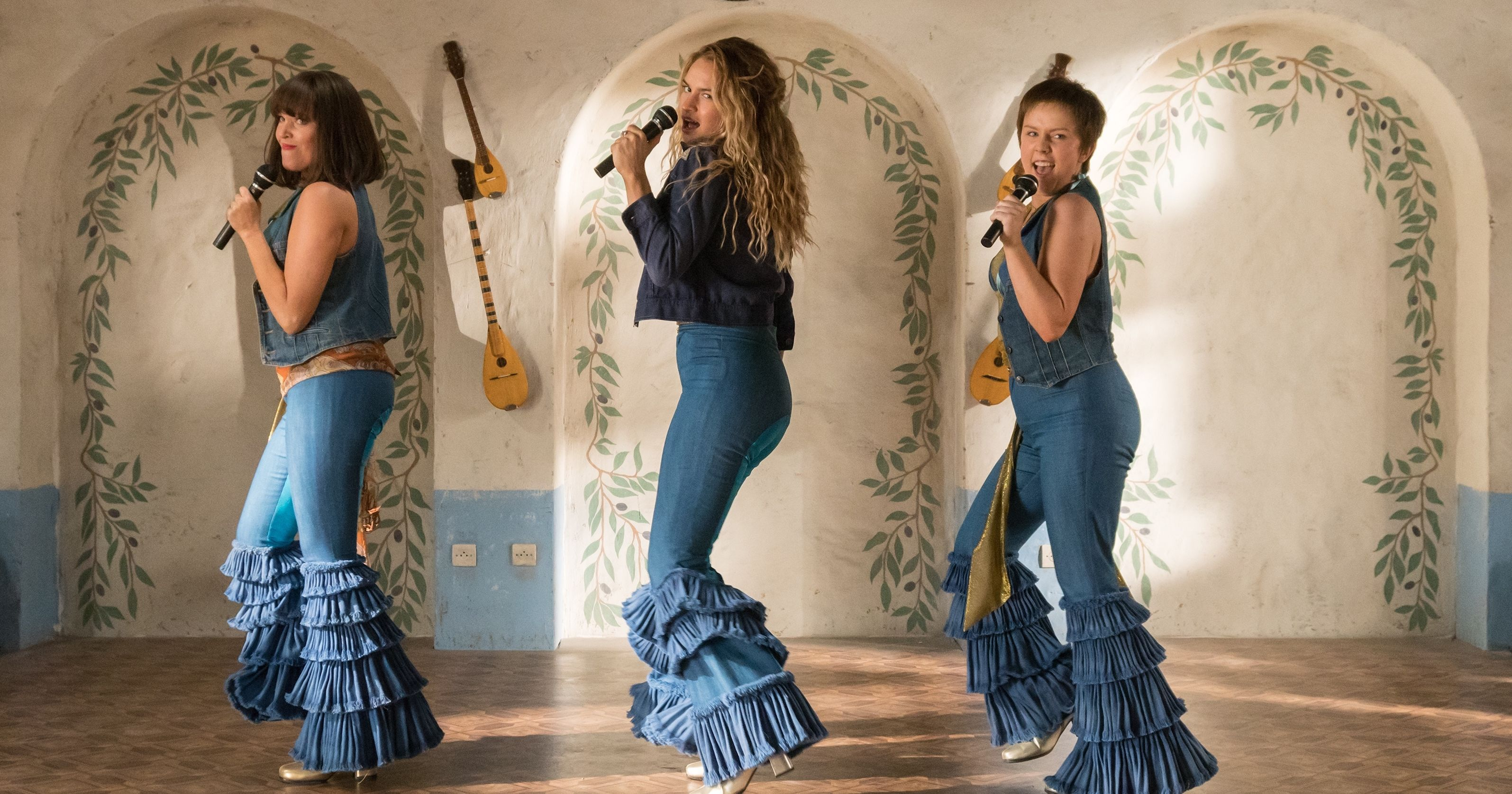 Lily James' Mamma Mia dances each took a week to film and we're knackered thinking about it