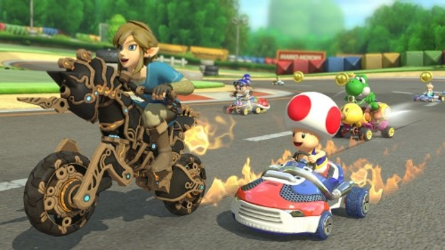 Mario Kart 8 Deluxe - everybody's happy