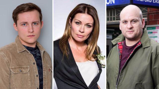 Lachlan Emmerdale, Carla Coronation Street, Stuart EastEnders soap spoilers