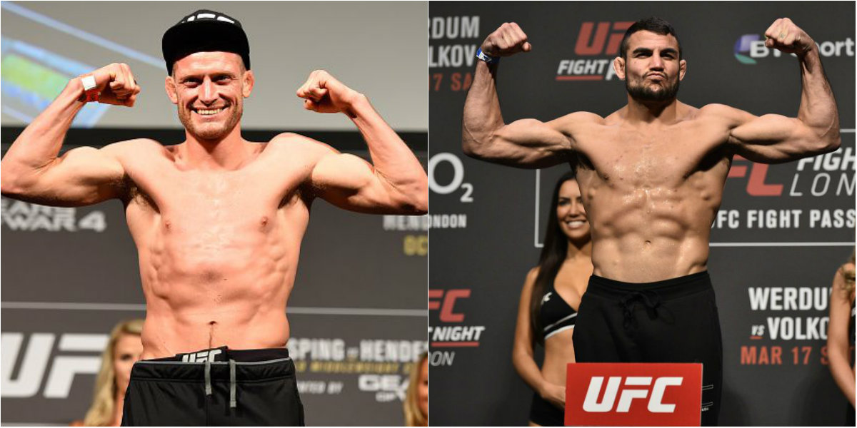 UFC add Brits Nad Narimani and Davey Grant to Hamburg fight card
