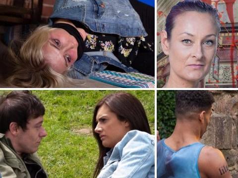 12 soap spoiler pictures: Coronation Street death, Emmerdale murder secret, EastEnders killer attack, Hollyoaks terrifying discovery