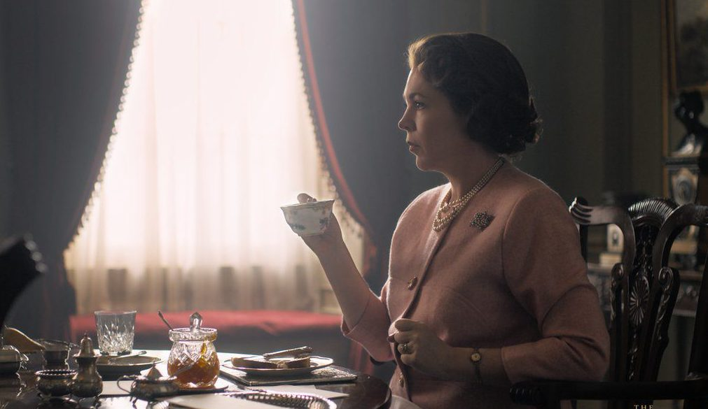 Olivia Colman as Queen Elizabeth II in The Crown season three